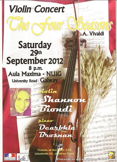 Aula Maxima at NUIG - 29th of september